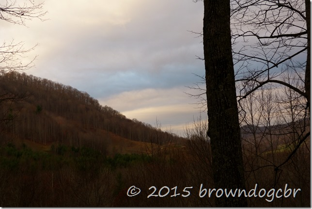 November in the mountains