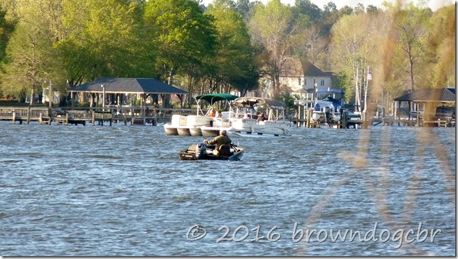 Boaters enjoying the day